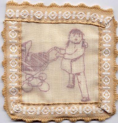 textile square