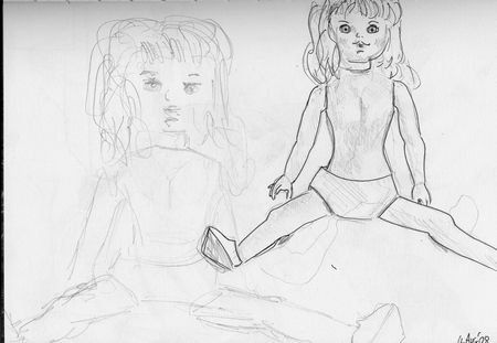 doll and crow studies 1