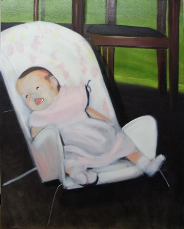 Bouncing Baby Painting