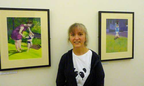 My work at Dean Clough June 2010