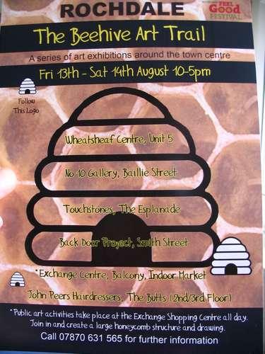 Beehive Art Trail, Rochdale Feel Good Festival 2010
