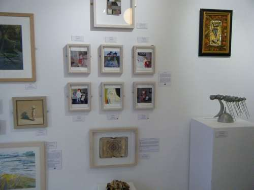My work in Water Street Gallery 2010