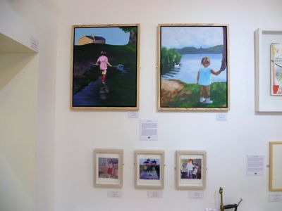 my work in Water Street Gallery