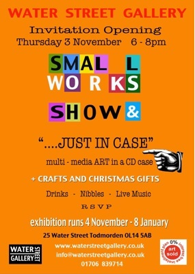 Small Works Exhibition Flyer